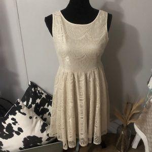 boutique lace dress